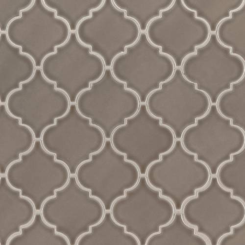 Highland Park Collection by MSI Stone Mosaic Tile Artisan Taupe Arabesque