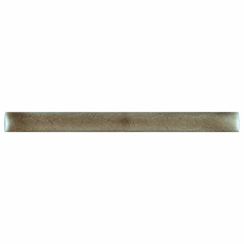 Highland Park Collection by MSI Stone Ceramic Tile 5/8x6 Quarter Round Artisan Taupe
