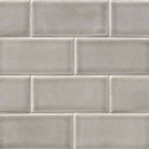 Highland Park Collection by MSI Stone Mosaic Tile 3x6 Dove Gray Subway