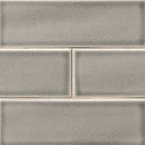 Highland Park Collection by MSI Stone Mosaic Tile 4x12 Dove Gray Subway
