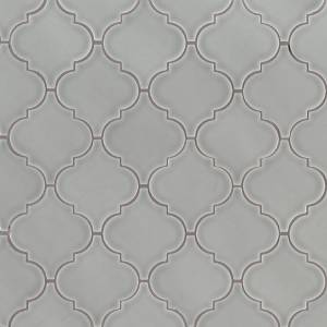 Highland Park Collection by MSI Stone Mosaic Tile Morning Fog Arabesque