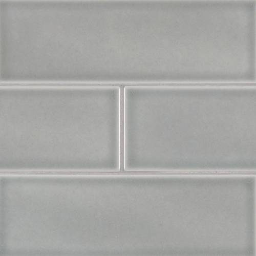 Highland Park Collection by MSI Stone Mosaic Tile 4x12 Morning Fog Subway