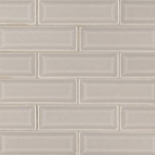 Highland Park Collection by MSI Stone Mosaic Tile 2x6 Portico Pearl Beveled
