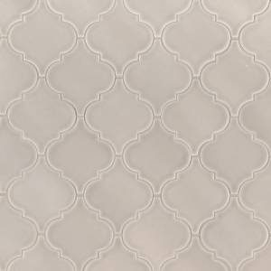 Highland Park Collection by MSI Stone Mosaic Tile Portico Pearl Arabesque