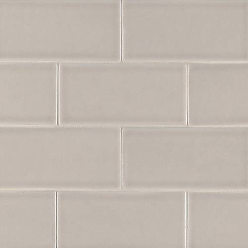 Highland Park Collection by MSI Stone Mosaic Tile 3x6 Portico Pearl Subway