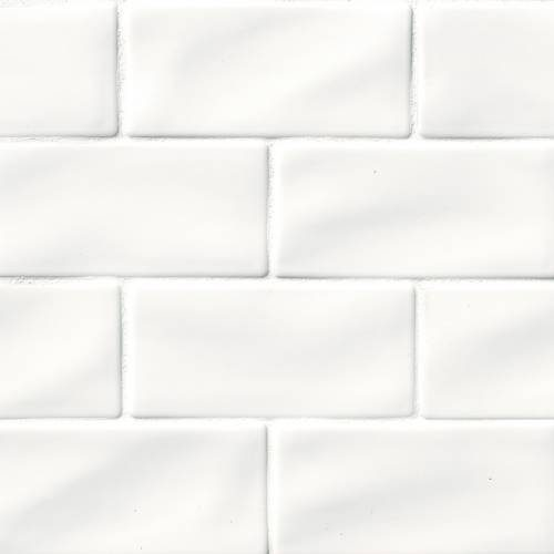 Highland Park Collection by MSI Stone Mosaic Tile 3x6 Whisper White Subway