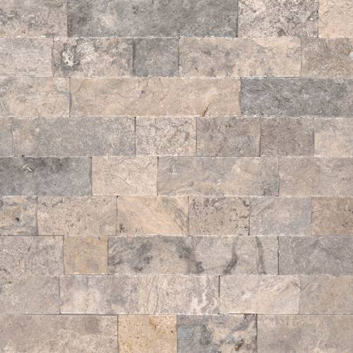 Travertine Veneer by MSI Stone Silver
