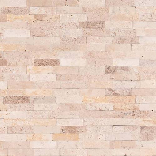 Peel and Stick Stacked Stone Collection by MSI Stone Mosaic Tile Roman Beige