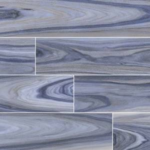 Dellano Collection by MSI Stone Porcelain Tile 8x48 Exotic Blue