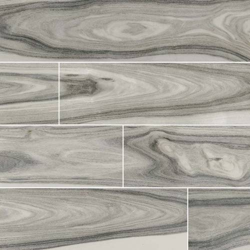 Dellano Collection by MSI Stone Porcelain Tile 8x48 Moss Gray