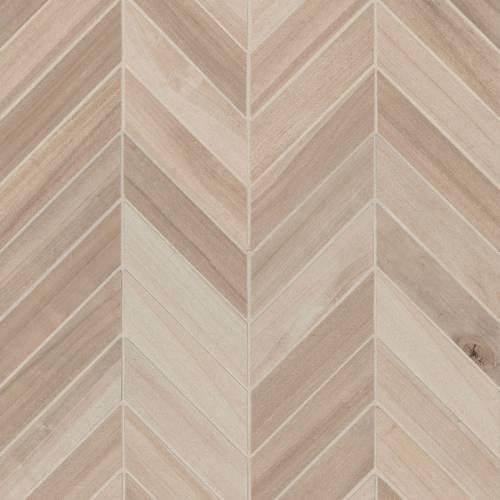 Havenwood Collection by MSI Stone Mosaic Tile 12x15 Chevron Beige