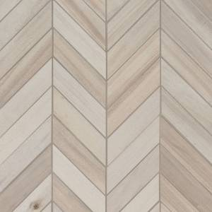 Havenwood Collection by MSI Stone Mosaic Tile 12x15 Chevron Dove