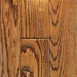 Knob Creek Collection by Mullican Solid 3/4 in. x 3 in. - Oak Saddle
