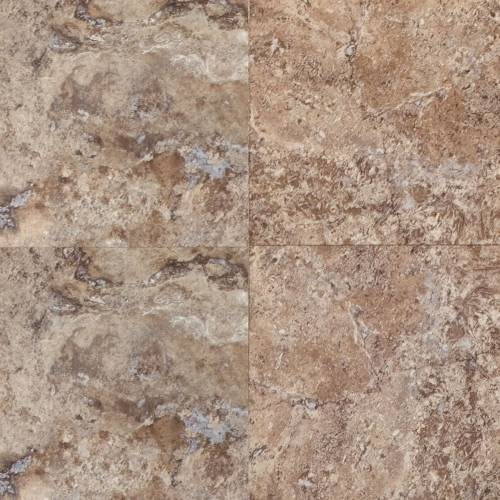 Adura Escalante Collection by Mannington Vinyl Tile 16x16 Brownstone