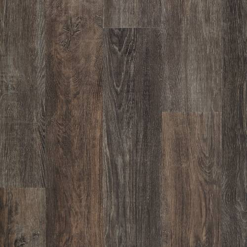 Adura Iron Hill Collection by Mannington Vinyl Plank 6x48 in. - Smoked Ash