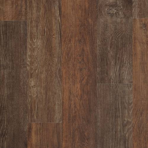 Adura Iron Hill Collection by Mannington Vinyl Plank 6x48 in. - Fireside
