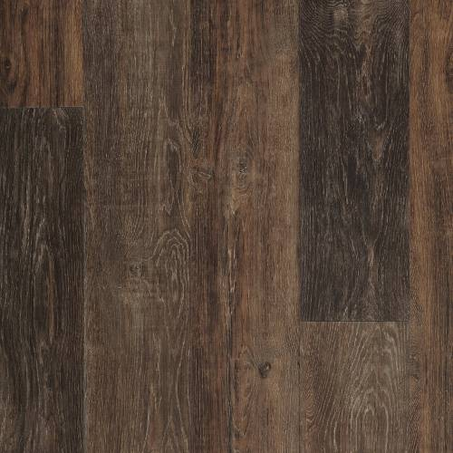Adura Iron Hill Collection by Mannington Vinyl Plank 6x48 in. - Coal