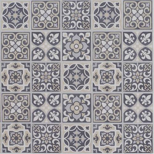 Adura Max Apex Deluxe Tracery Collection by Mannington Vinyl Plank 16x48 in. - Stained Glass