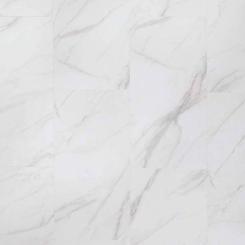Adura Legacy Collection by Mannington Vinyl Tile 12x24 in. - White with Gray