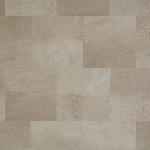 Adura Meridian Collection by Mannington Vinyl Tile 16x16 Fossil