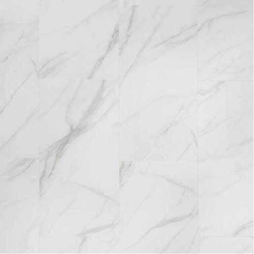 Adura Flex Legacy Collection by Mannington Vinyl Tile 12x24 in. - White with Gray
