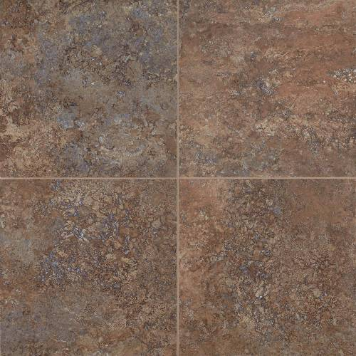 Adura San Luca Collection by Mannington Vinyl Tile 16x16 Coral