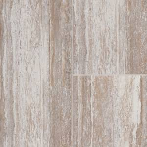 Adura Cascade Collection by Mannington Vinyl Tile 12x24 in. - Harbor Beige