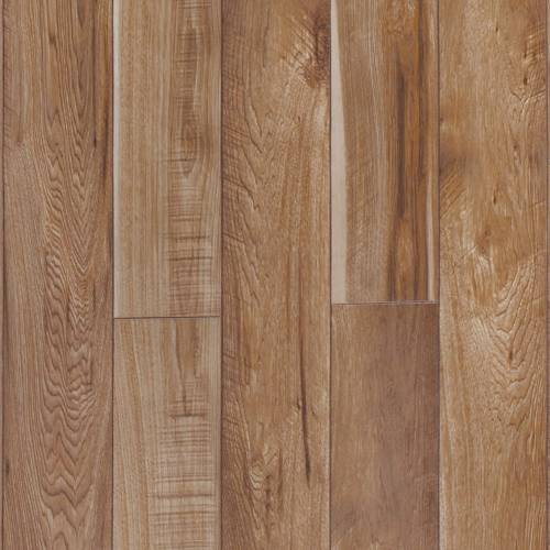 Restoration Collection by Mannington Laminate 6-3/16x50-1/2 in. Sawmill Hickory - Natural