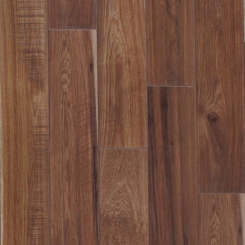 Restoration Collection by Mannington Laminate 6-3/16x50-1/2 in. Sawmill Hickory - Leather