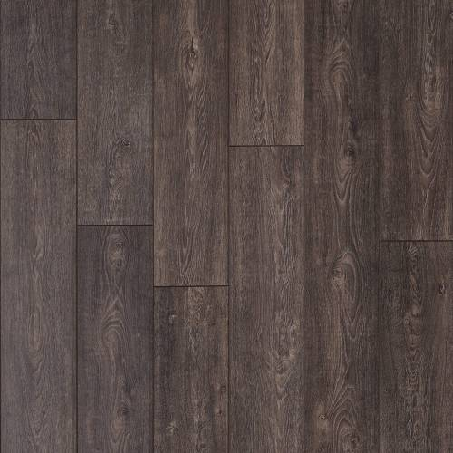 Restoration Wide Plank Collection by Mannington Laminate 7-9/16x50-1/2 in. French Oak - Peppercorn