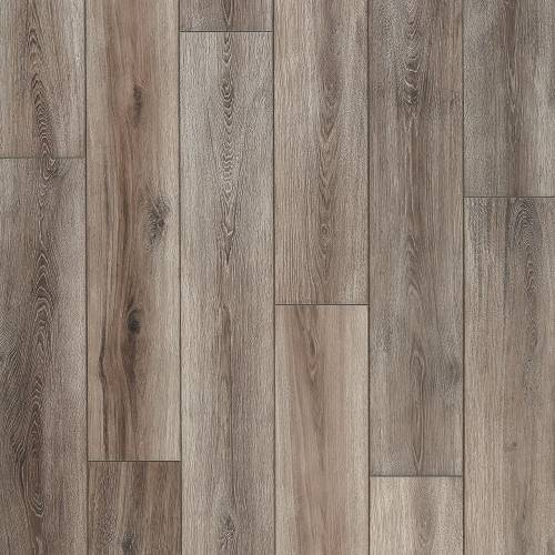 Restoration Wide Plank Collection by Mannington Laminate 7-9/16x50-1/2 in. Fairhaven - Brushed Grey