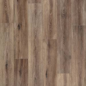 Restoration Wide Plank Collection by Mannington Laminate 7-9/16x50-1/2 in. Fairhaven - Brushed Coffee