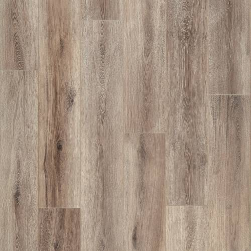 Restoration Wide Plank Collection by Mannington Laminate 7-9/16x50-1/2 in. Fairhaven - Brushed Taupe
