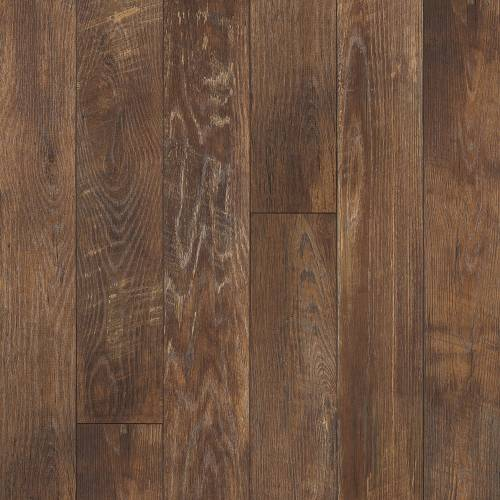 Restoration Collection by Mannington Laminate 6-3/16x50-1/2 in. Historic Oak - Charcoal