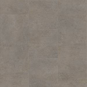 Deja New Smooth Concrete Collection by Metroflor Vinyl Tile 24x24 in. - Dolomite