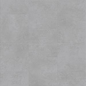 Deja New Smooth Concrete Collection by Metroflor Vinyl Tile 24x24 in. - Stoneware