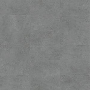 Attraxion Deja New Smooth Concrete Collection by Metroflor Vinyl Tile 24x24 Zinc
