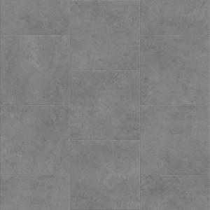 Attraxion Deja New Smooth Concrete Collection by Metroflor Vinyl Tile 24x24 in. - Zinc