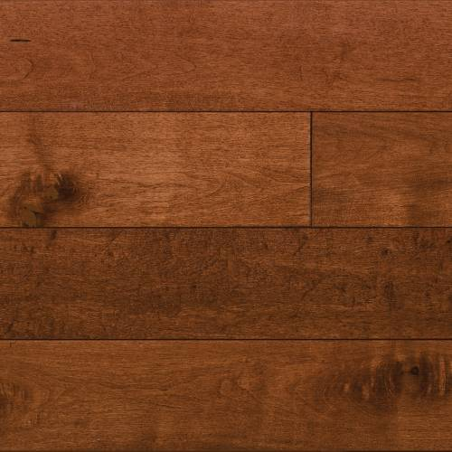 Alberta Maple Collection by Paramount Flooring Solid Hardwood 3-1/2 in. Maple - Brandy