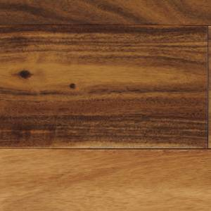 "Asian Walnut Collection by Paramount Flooring Solid Hardwood 3-5/8"" Small Leaf Acacia - Natural"