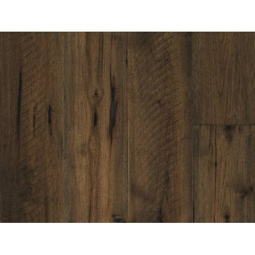 Barnwood Collection by Paramount Flooring Engineered Hardwood 7-1/2 in. Hickory - Cathedral Brown