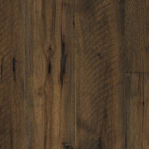 "Barnwood Collection by Paramount Flooring Engineered Hardwood 7-1/2"" Hickory - Cathedral Brown"