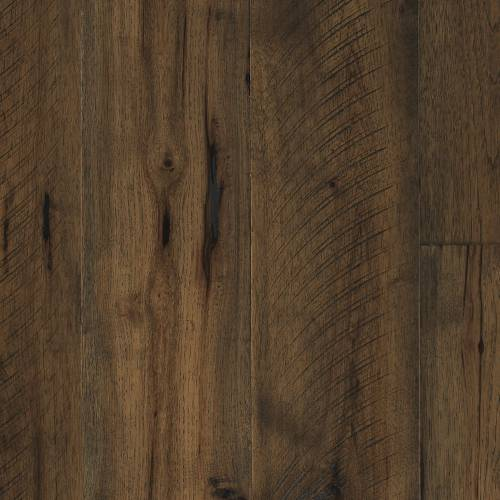"""Barnwood Collection by Paramount Flooring Engineered Hardwood 7-1/2"""" Hickory - Cathedral Brown"""