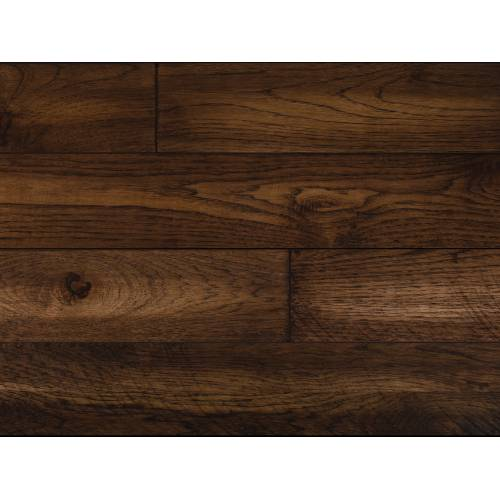 """Barnwood Hickory Collection by Paramount Flooring Solid Hardwood 5"""" Hickory - Covered Bridge"""