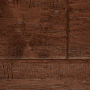 Bucks County Collection by Paramount Flooring Engineered Hardwood 5 in. Hickory - Clydesdale Brown