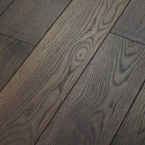 Canoe Bay Neutrality Oak Collection by Paramount Flooring Engineered Hardwood 7 in. Oak - Midnight Muse