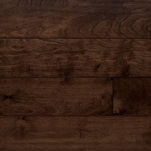 Cottage Creek Collection by Paramount Flooring Engineered Hardwood 5 in. Birch - Cappuccino