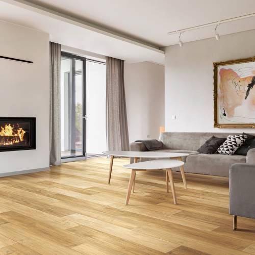 """Country View Collection by Paramount Flooring Engineered Hardwood 6-1/2"""" Maple - Sandy Road"""