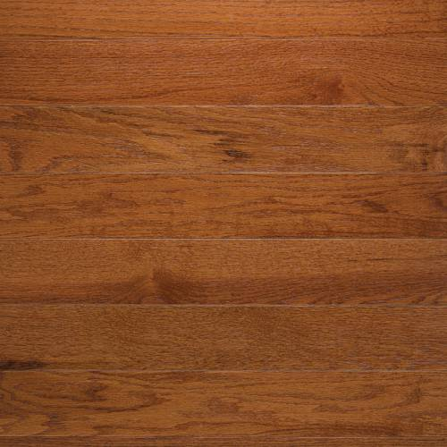 "Hampton Oak Collection by Paramount Flooring Solid Hardwood 3-1/4"" Red Oak - Gunstock"