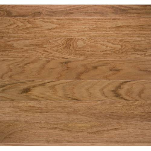 """Hampton Oak Collection by Paramount Flooring Solid Hardwood 2-1/4"""" Red Oak - Natural"""